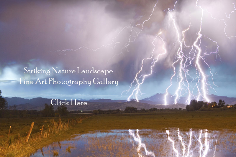 Striking Nature Landscape Fine Art Photography Gallery Click Here