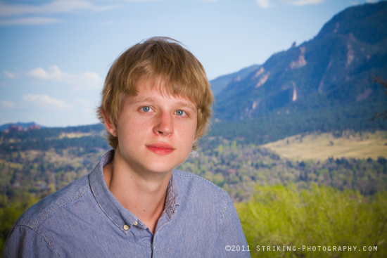 Boulder Colorado Senior portrait picture photographers