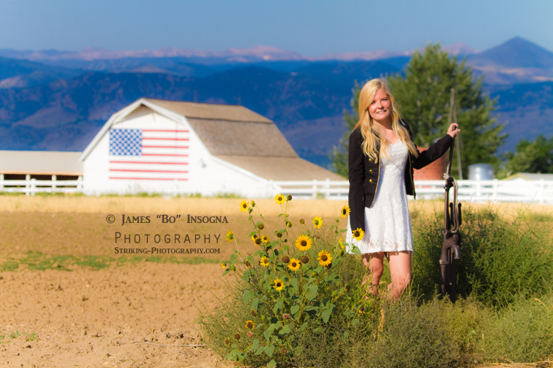 Longmont Colorado Senior Portraits
