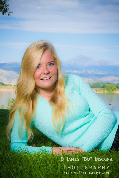 Longmont Colorado photographer studio senior portraits