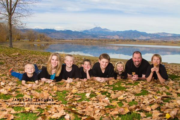 Boulder Longmont Colorado Family Portraits Studio Photographer