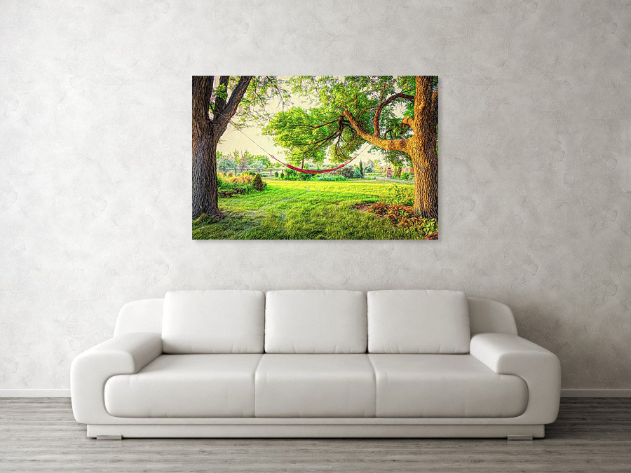Cozy Lazy Afternoon Metal Print